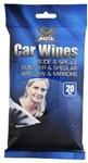 CAR WIPES 20 STK WINDOW