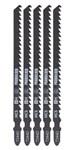 STIKSAVSKLINGER ASS T-SHANK 132MM 5STK