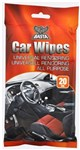 CAR WIPES 20 STK UNIVERSAL